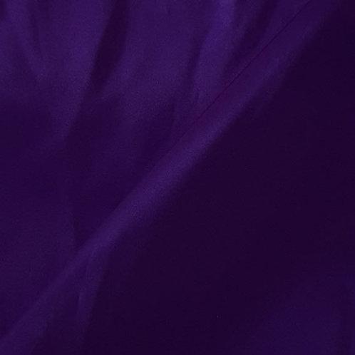 Purple Satin Shoe Bag