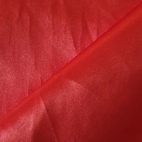 Red Satin Shoe Bag