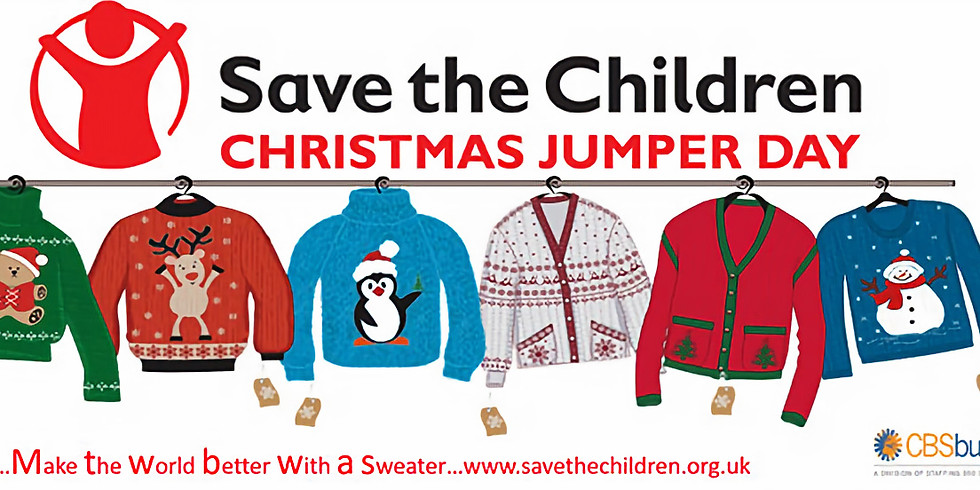 TEAMBREEZE Save The Children's CHRISTMAS JUMPER DAY 14th Dec 2018