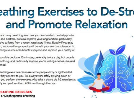 Breathing To De-Stress