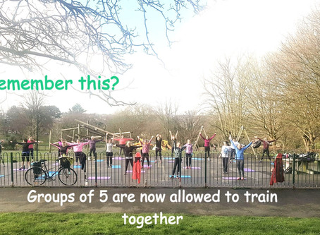 The Return of BST Outdoor Small Group/Personal Training 2020