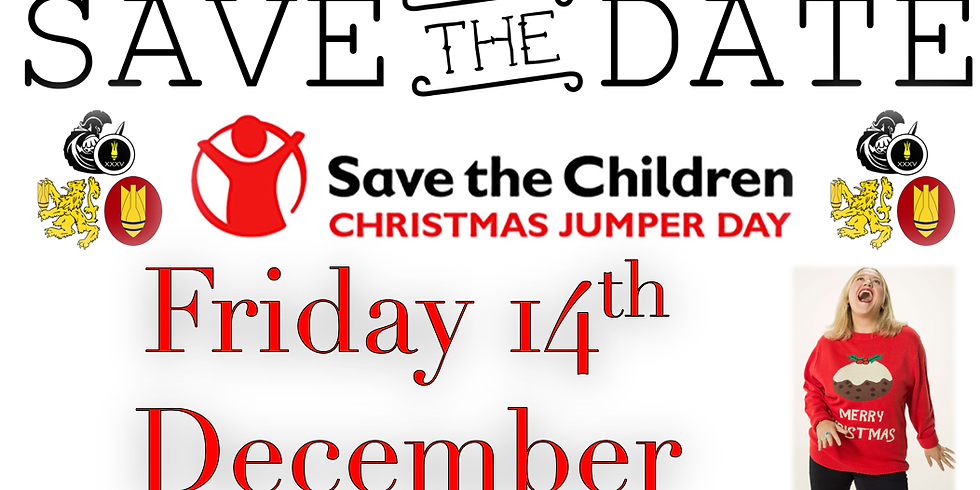 TEAMBREEZE Save The Children's CHRISTMAS JUMPER DAY