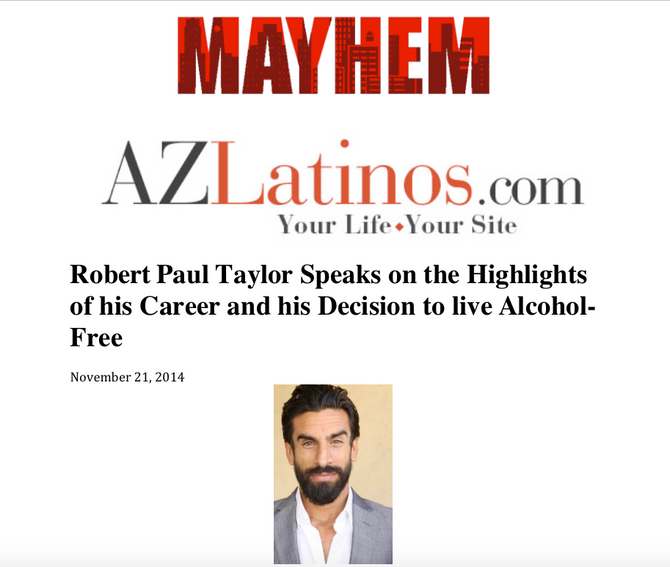 Arizona Latinos: Robert Paul Taylor