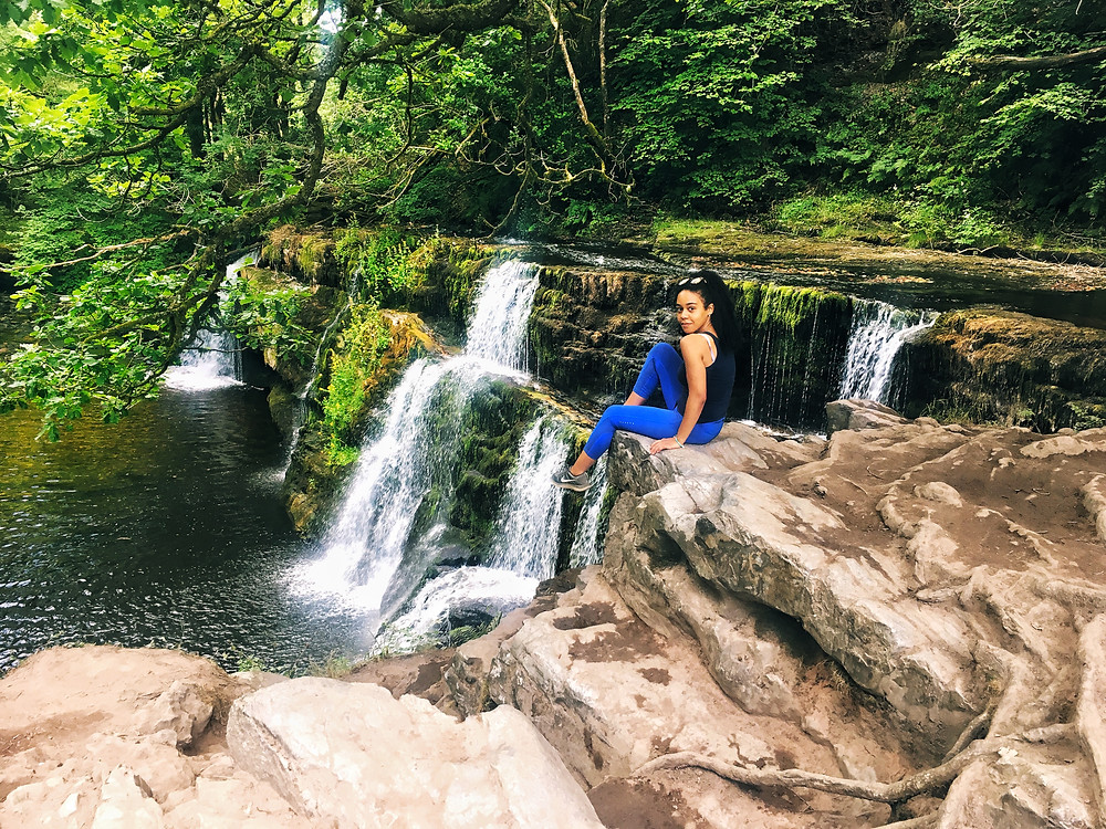 Kay Ali, hormone and mental health expert and London based Nutritional Therapist discussing how negative ions found in waterfalls help heal our body