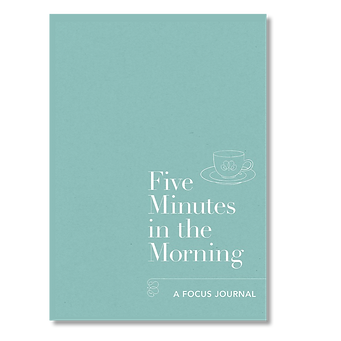 Five Minutes in the Morning Mindfulness journal_Kay Ali hormone specialist recommenation
