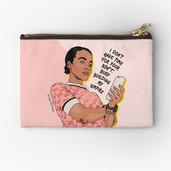 Female Boss Pencil Case & Makeup Bag by Kay Ali