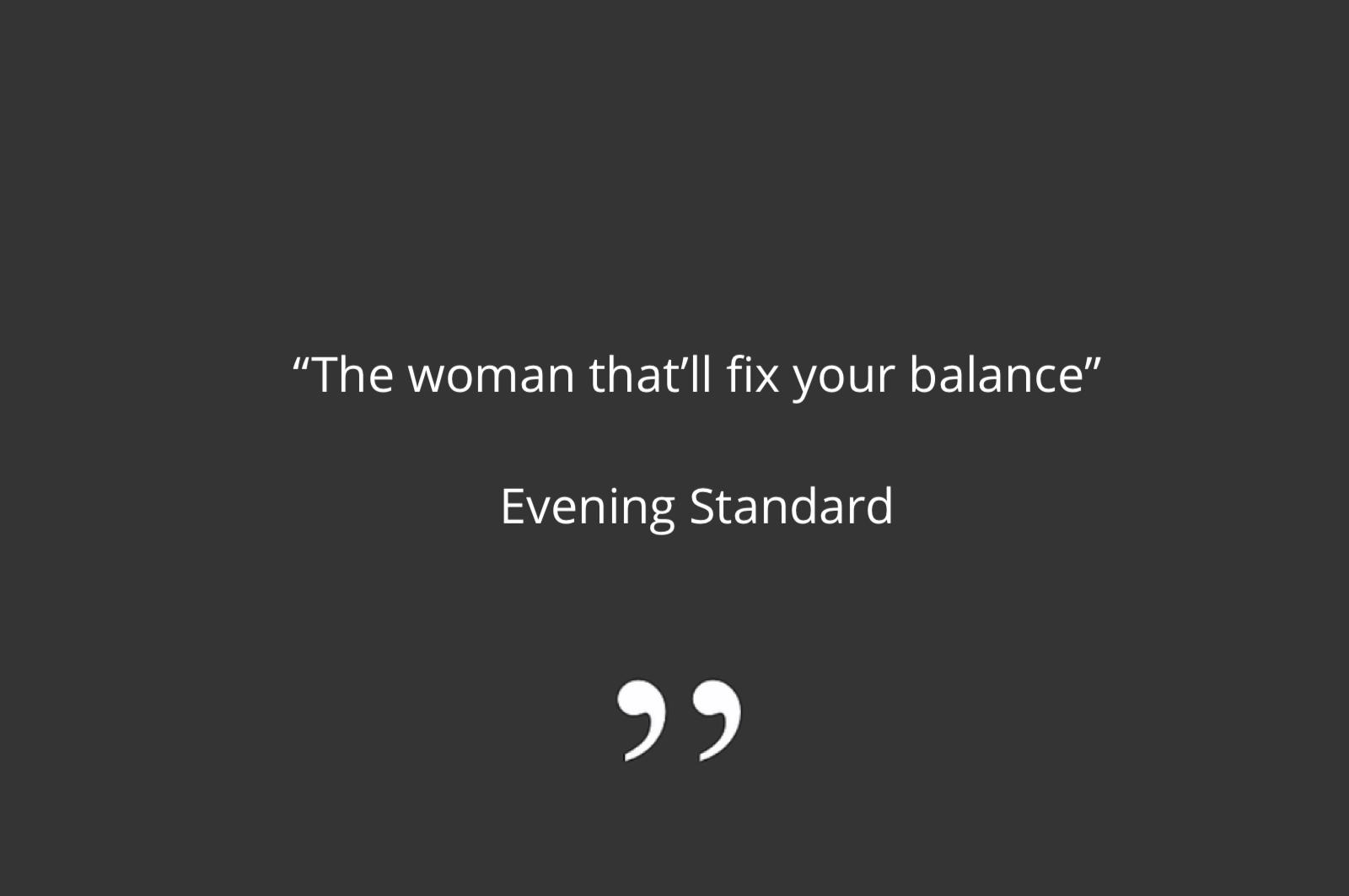 Kay Ali in Evening Standard Hormones