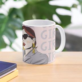 Female Power Mug by Kay Ali