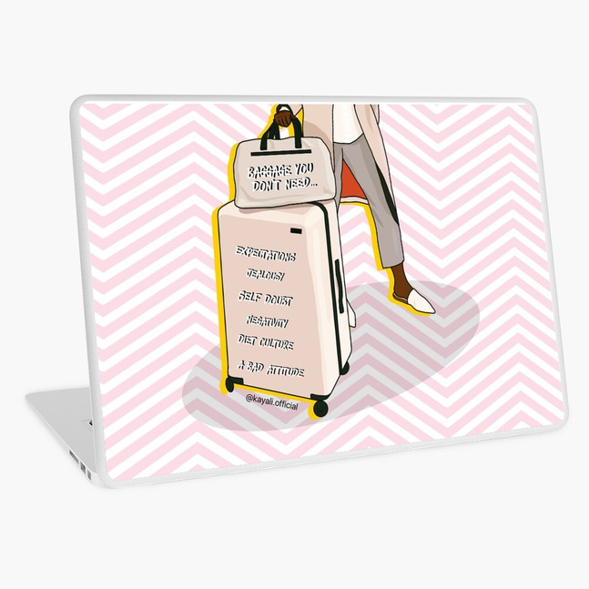 Baggage you don't need - laptop sleeve & skin