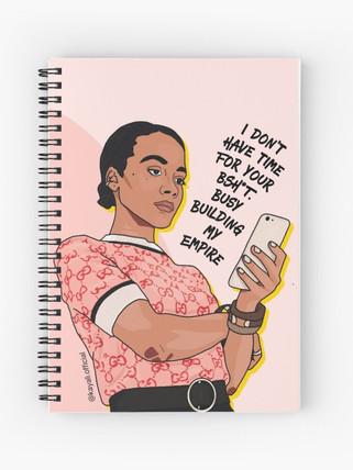 Female Boss - Notepad by Kay Ali
