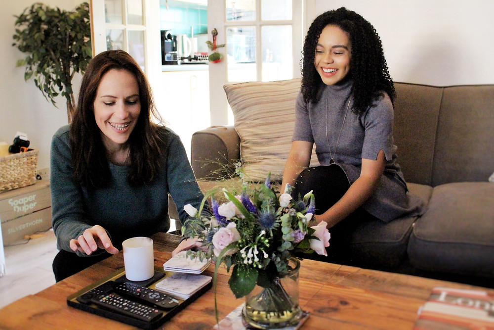 Business partners Vicky Silverthorn of You Need A Vicky and Kay Ali of You Need A Nutritional Therapist discussing how chemicals in your home impacts your health