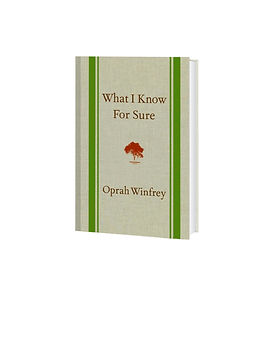 By Oprah Winfrey. A must read for the woman seeking greater selfcare and development.
