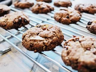 Salt 'n' pepper antioxidant rich cookies