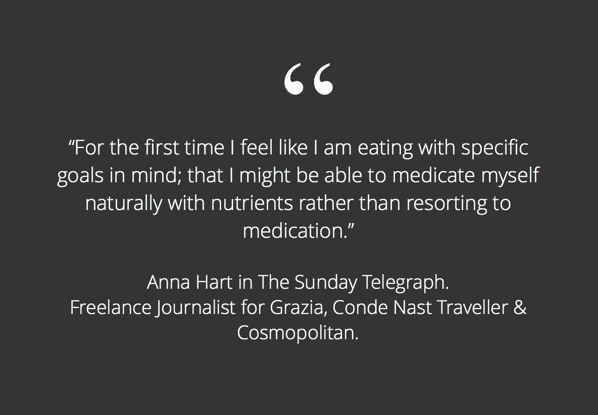Sunday Telegraph Kay Ali nutrition