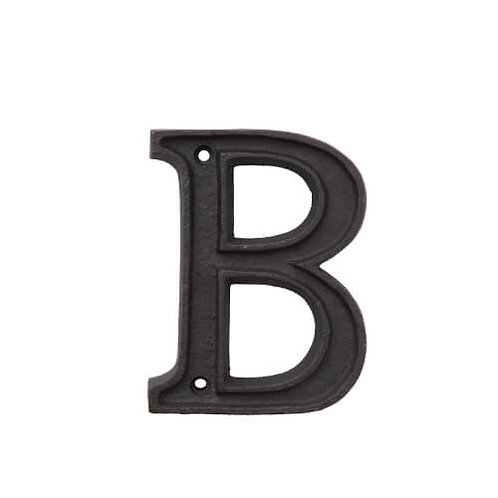 アルミアルファベット B