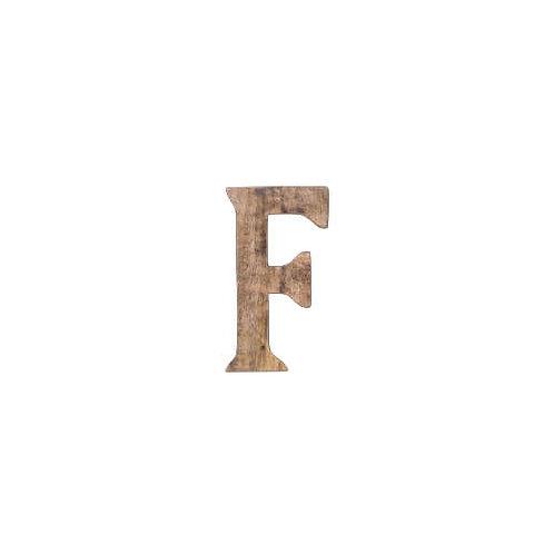 C'est La Vie ウッデンアルファベット F
