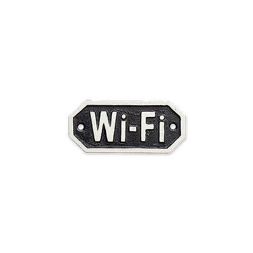 サインプレート Wi-Fi ブラック