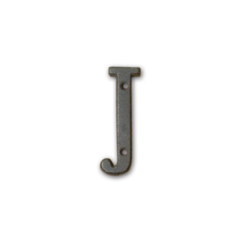アイアンアルファベット J