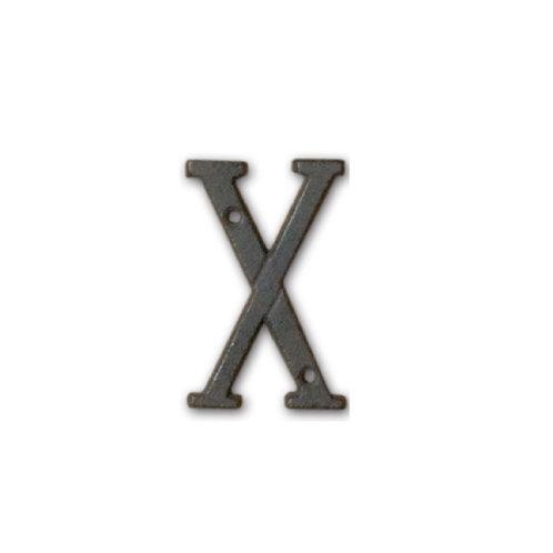 アイアンアルファベット X
