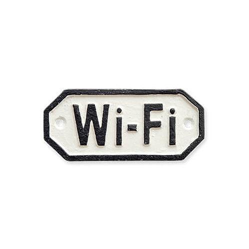 サインプレート Wi-Fi ホワイト