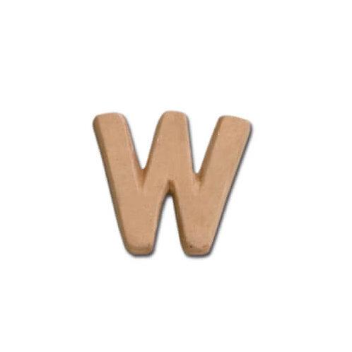 テラコッタアルファベット W BN