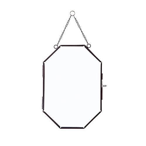 ガラスフレーム オクト ブラック