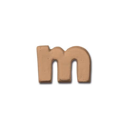 テラコッタアルファベット m BN