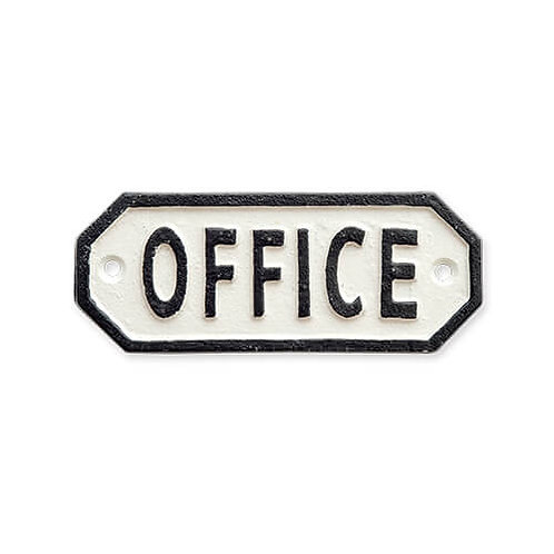サインプレート OFFICE ホワイト