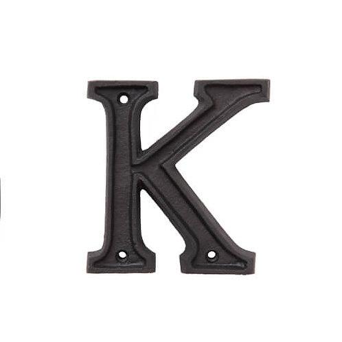 アルミアルファベット K