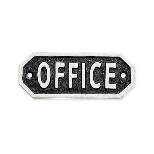 サインプレート OFFICE ブラック