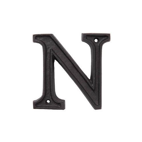 アルミアルファベット N