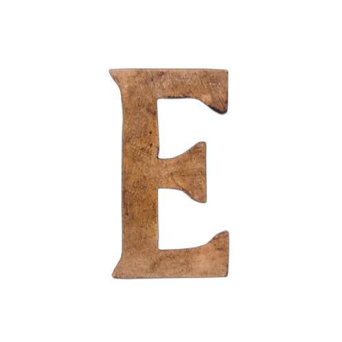 ウッデンアルファベット E