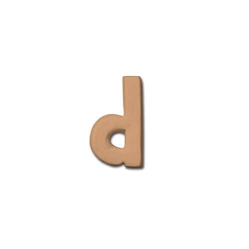 テラコッタアルファベット d BN