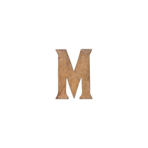 C'est La Vie ウッデンアルファベット M
