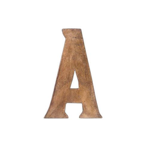 ウッデンアルファベット A