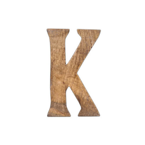 ウッデンアルファベット K
