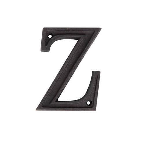 アルミアルファベット Z