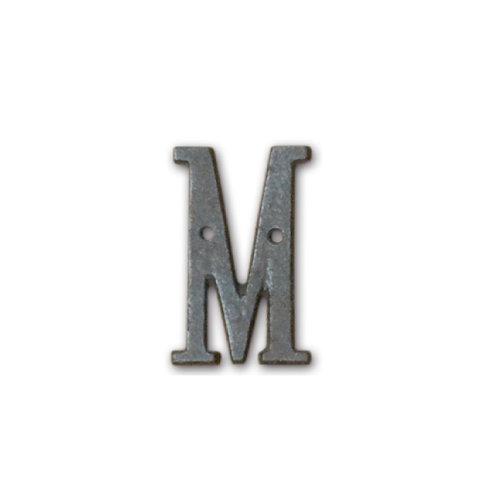 アイアンアルファベット M