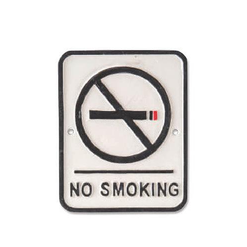アイアンプレート NO SMOKING