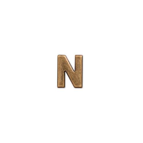 アルファベットパーツ N