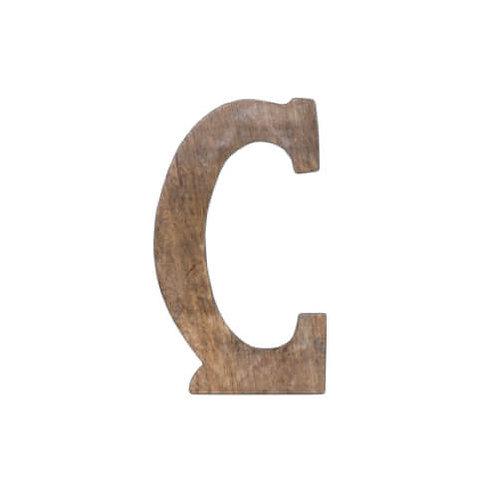 ウッデンアルファベット C