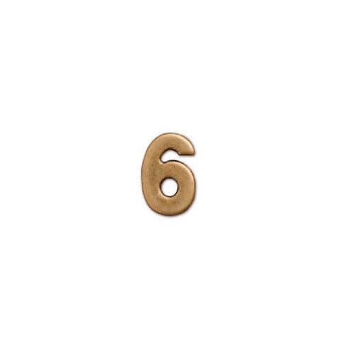 ナンバーパーツ 6