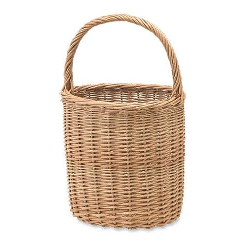 WOVEN BAG ウィッカーバスケット ナチュラル