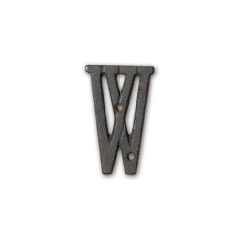 アイアンアルファベット W