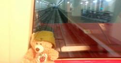 4 On a train in Dubai