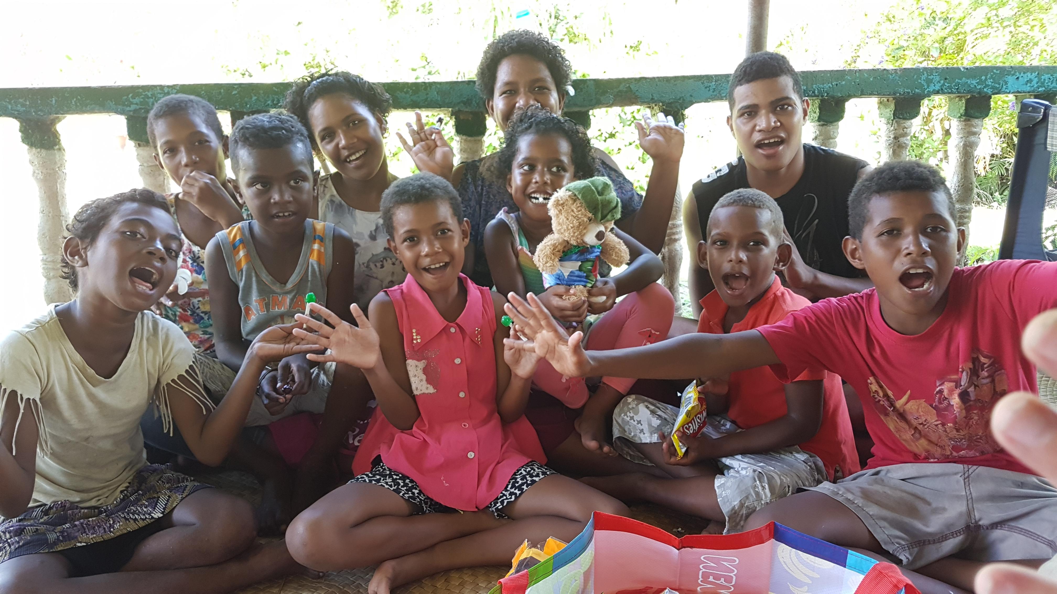 77 Beautiful children from the Muana-ira Village