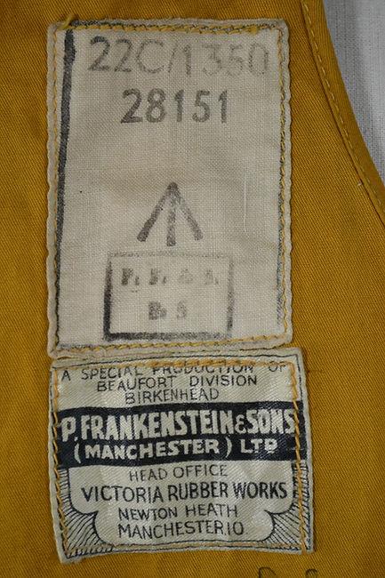 Waistcoat, Life Jacket, Aircrew, Mk 3.JP