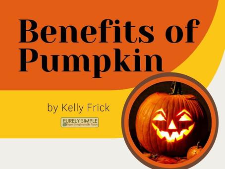 10 Benefits of Pumpkin