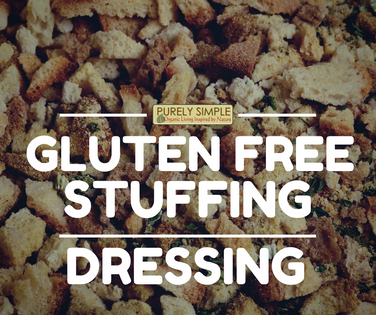 Gluten Free Savory Stuffing/Dressing