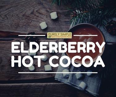 Elderberry Hot Cocoa Recipe
